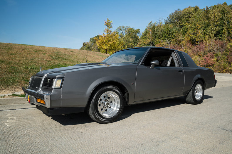 gray 1987 buick regal t type for sale mcg marketplace. Black Bedroom Furniture Sets. Home Design Ideas
