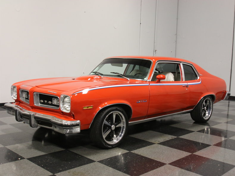Red 1974 Pontiac Gto For Sale Mcg Marketplace