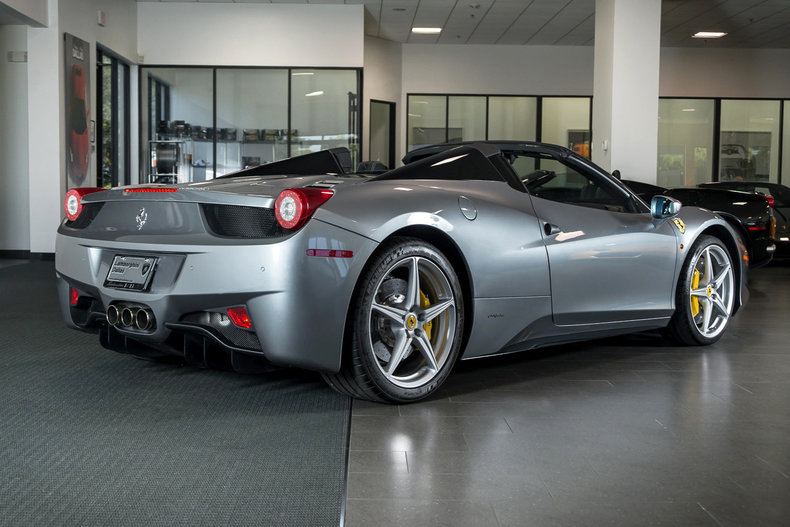 2014 ferrari 458 italia spider post mcg social myclassicgarage. Black Bedroom Furniture Sets. Home Design Ideas