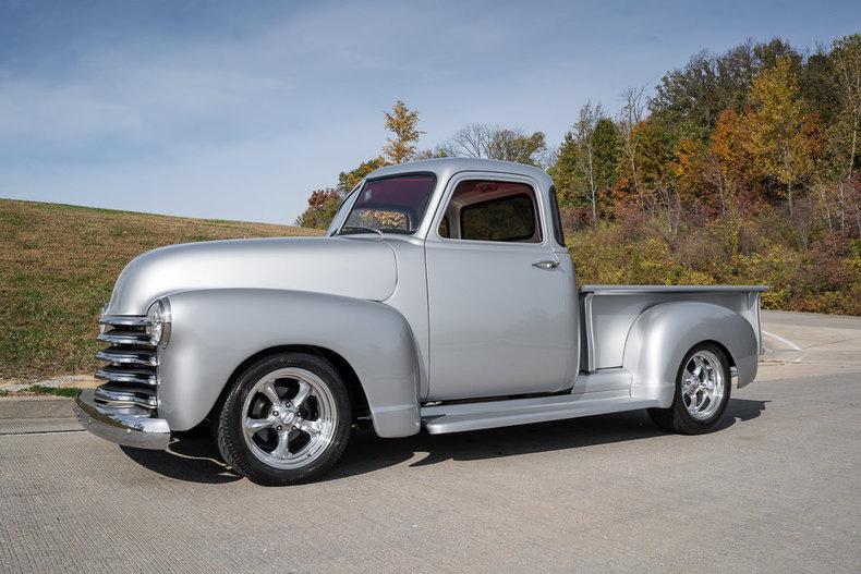 Silver metallic 1953 chevrolet 5 window pickup for sale for 1953 chevrolet 5 window pickup for sale
