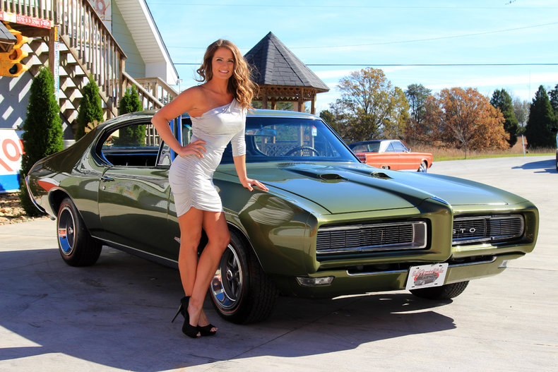 Verdoro Green 1968 Pontiac Gto For Sale Mcg Marketplace