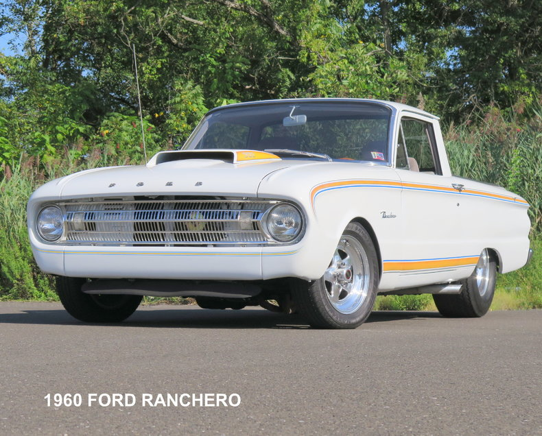White 1960 Ford Ranchero For Sale Mcg Marketplace