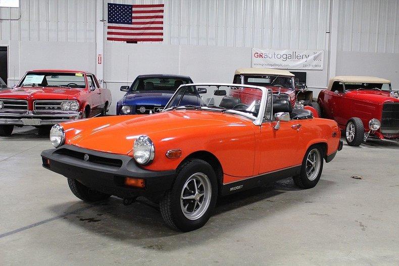 Orange 1978 mg midget for sale mcg marketplace for Garage auto orange