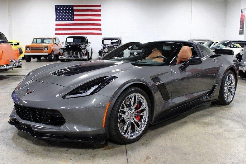 Shark Grey Metallic 2015 Chevrolet Corvette Z06 For Sale ...