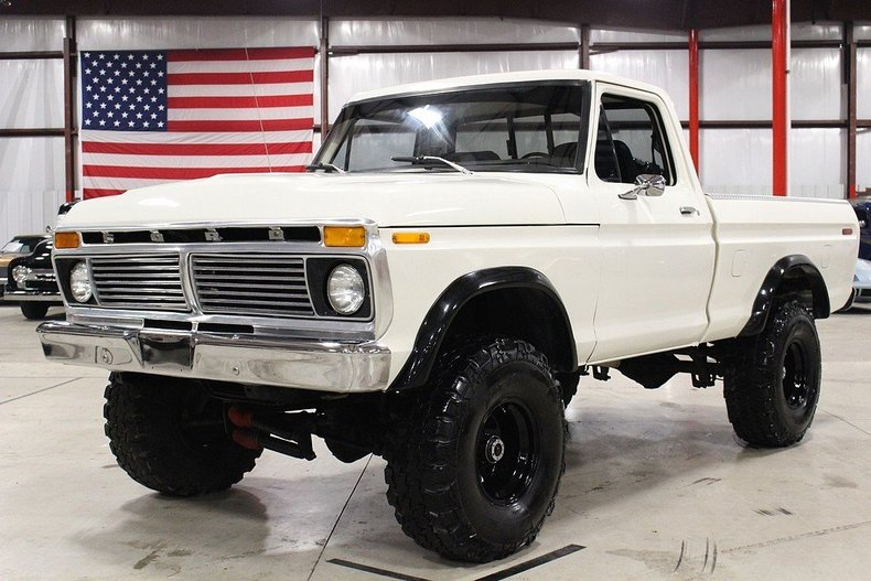 Baja white 1977 ford f150 for sale mcg marketplace for Garage ford chelles 77