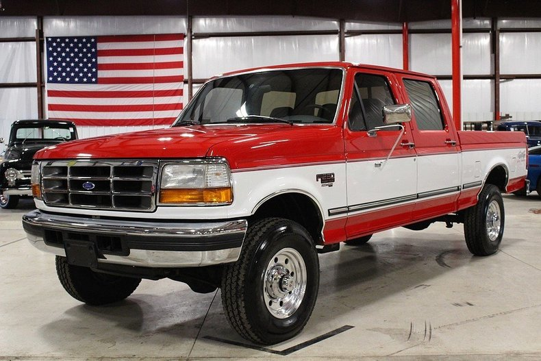 Red 1997 Ford F250 For Sale Mcg Marketplace