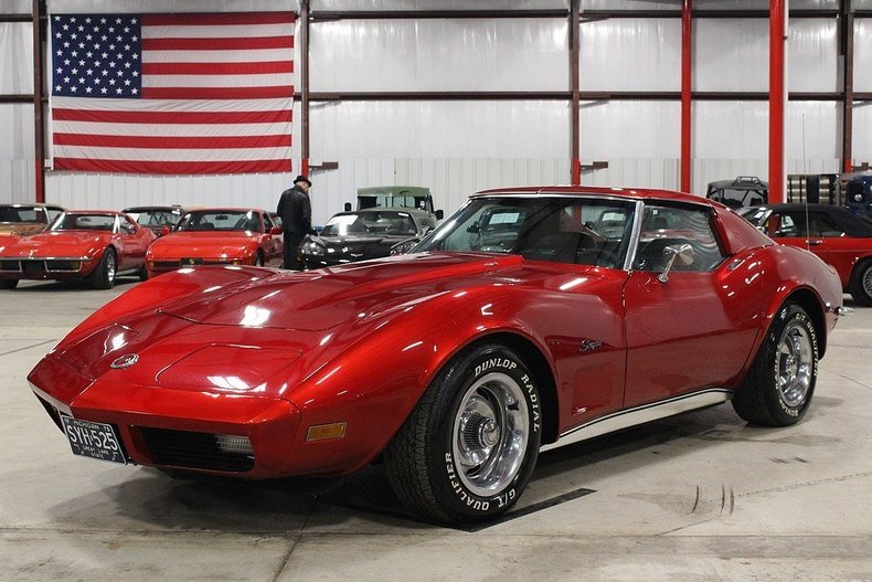 Grand Rapids Car Dealers >> Candy Apple Red 1973 Chevrolet Corvette For Sale | MCG Marketplace