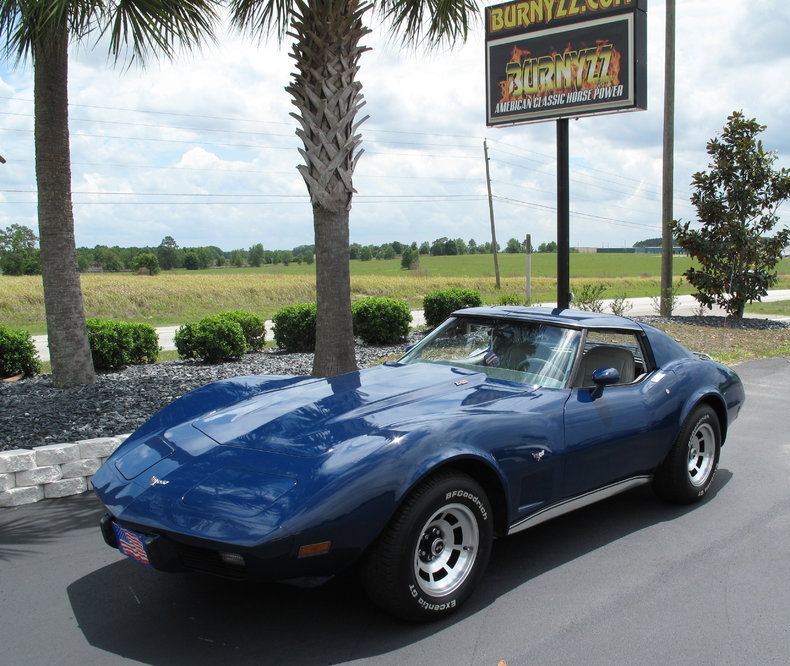Royal Chevrolet Used Cars: Dark Royal Blue 1977 Chevrolet Corvette For Sale