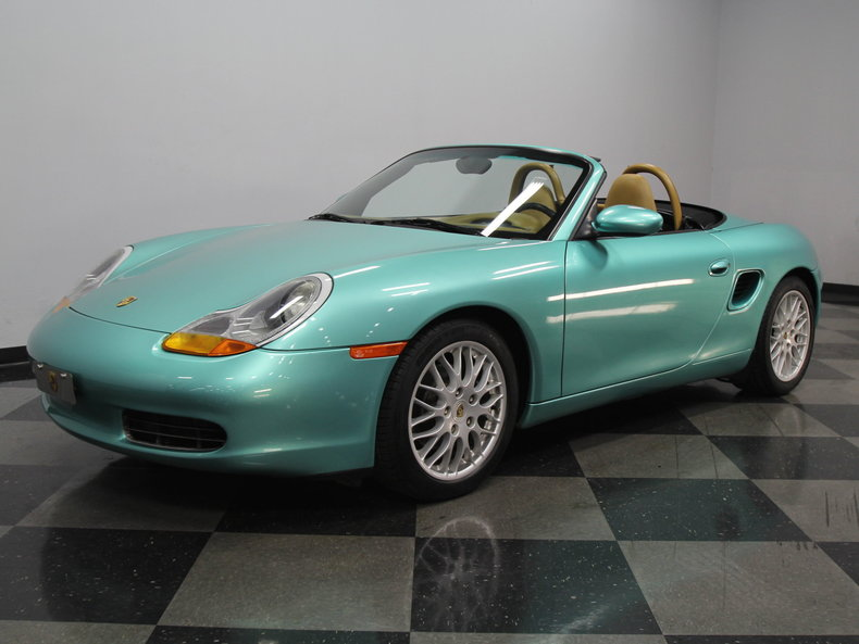 ocean jade metallic 1998 porsche boxster for sale mcg. Black Bedroom Furniture Sets. Home Design Ideas