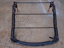 0005 1969 Ford Galaxie Convertible top frame assembly
