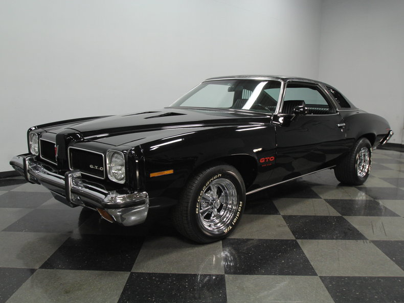 Worksheet. Starlight Black 1973 Pontiac Gto For Sale  MCG Marketplace