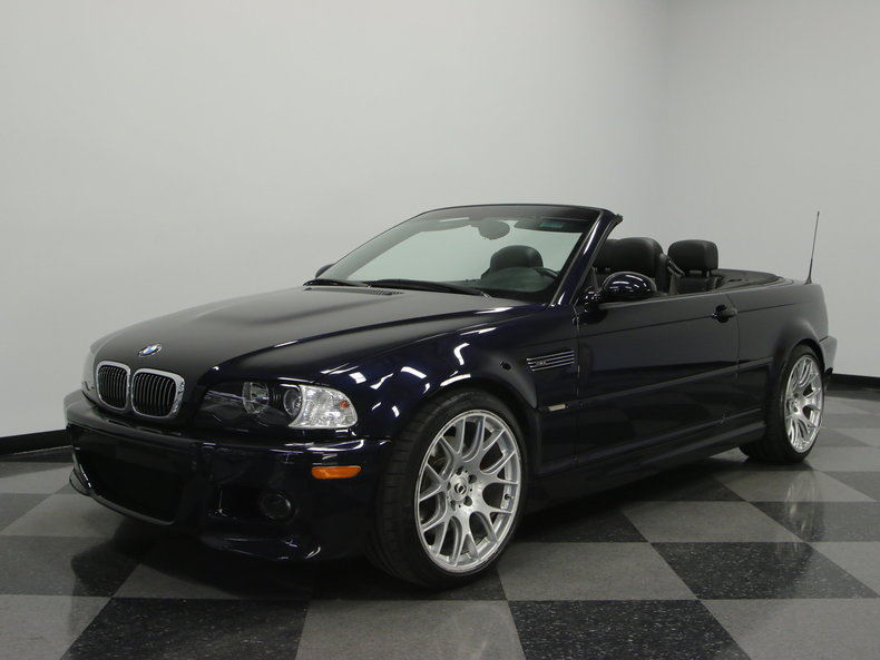 carbonshwarz metallic 2003 bmw m3 convertible for sale mcg marketplace. Black Bedroom Furniture Sets. Home Design Ideas
