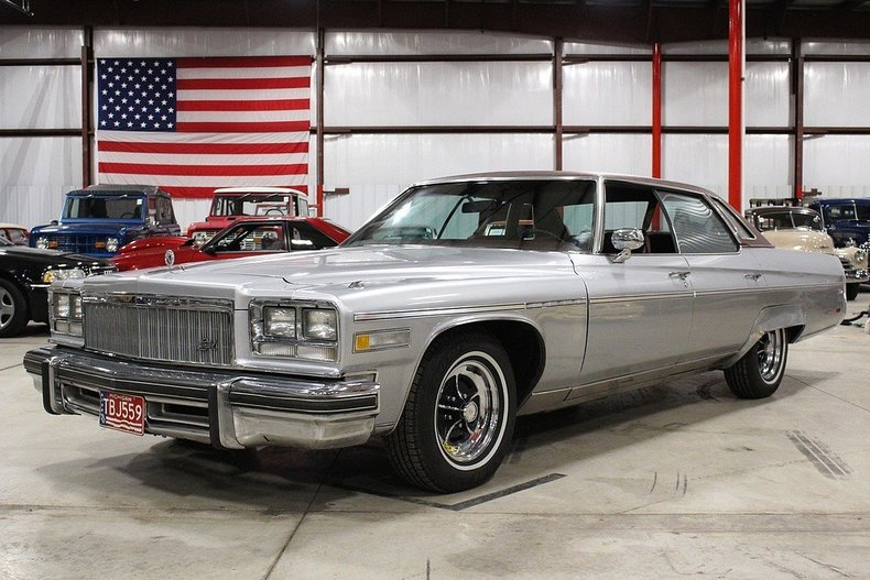 Pewter 1976 Buick Electra Limited For Sale Mcg Marketplace