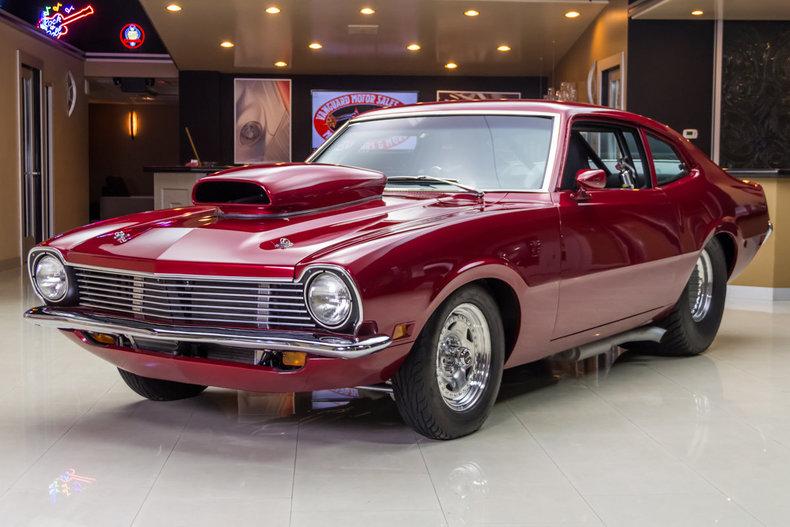 Maroon 1970 Ford Maverick For Sale Mcg Marketplace