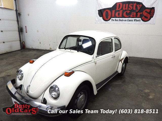 White 1974 Volkswagen Beetle For Sale Mcg Marketplace