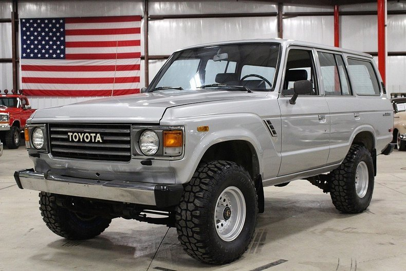 Grand Rapids Toyota >> Silver 1987 Toyota Land Cruiser For Sale | MCG Marketplace