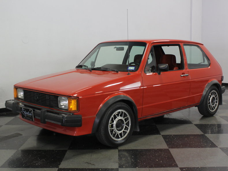 Royal red 1984 volkswagen gti for sale mcg marketplace for Garage volkswagen 92