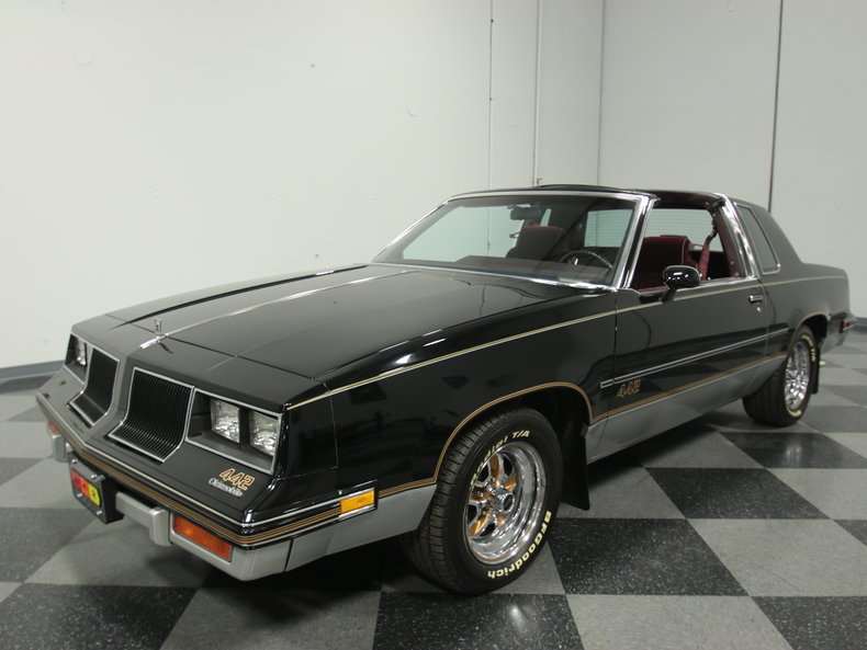 Black 1986 oldsmobile cutlass 442 for sale mcg marketplace for 1986 oldsmobile cutlass salon for sale