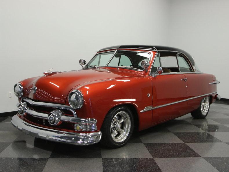 Burnt orange 1951 ford victoria for sale mcg marketplace for Garage ford orange