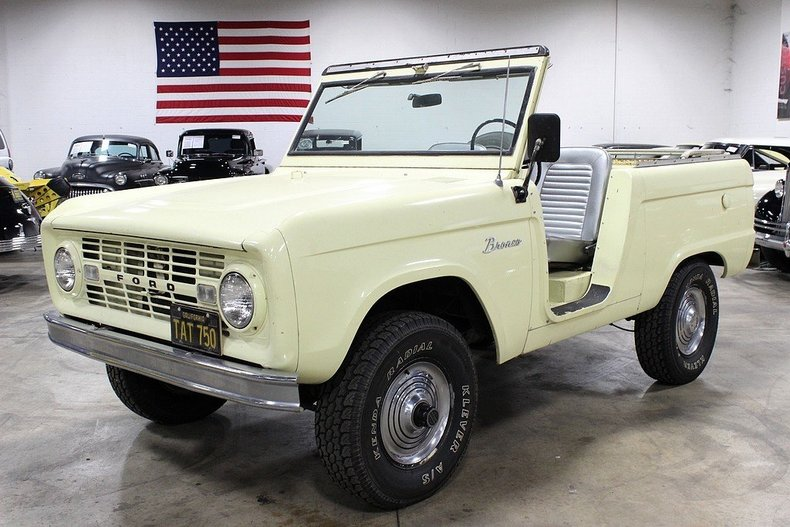 1966 ford bronco post mcg social myclassicgarage. Black Bedroom Furniture Sets. Home Design Ideas