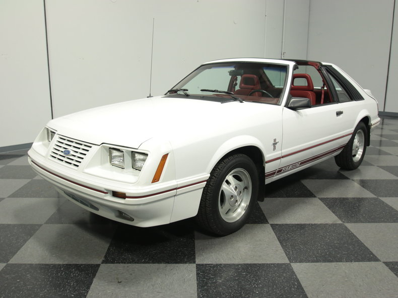 White 1984 Ford Mustang Gt350 For Sale  MCG Marketplace
