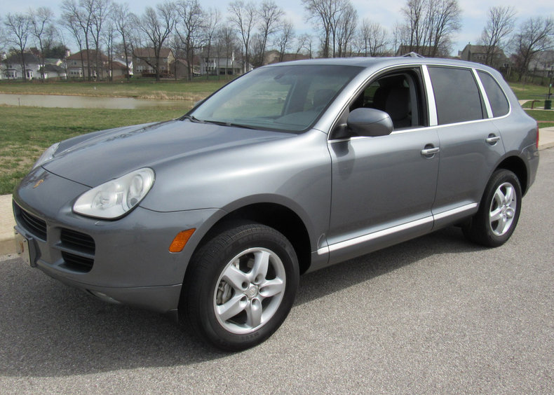 gray 2005 porsche cayenne s for sale mcg marketplace. Black Bedroom Furniture Sets. Home Design Ideas