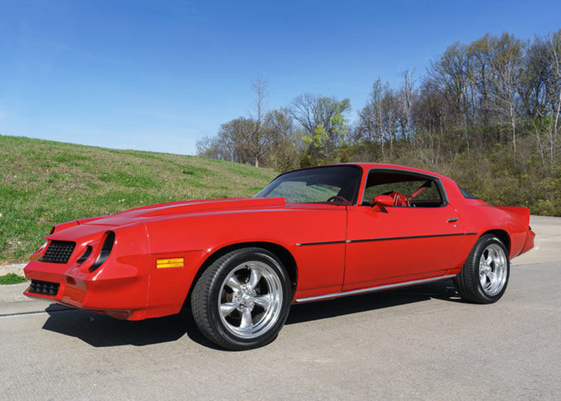 Red 1980 Chevrolet Camaro For Sale Mcg Marketplace