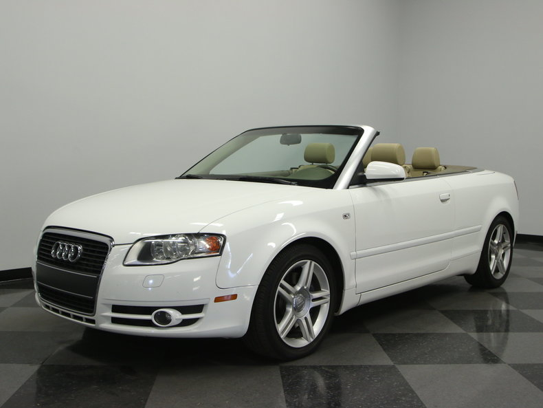 Audi Srt: White 2008 Audi A4 Srt/10 For Sale