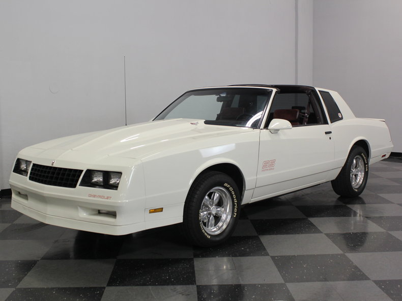 white 1987 chevrolet monte carlo ss for sale mcg marketplace. Black Bedroom Furniture Sets. Home Design Ideas