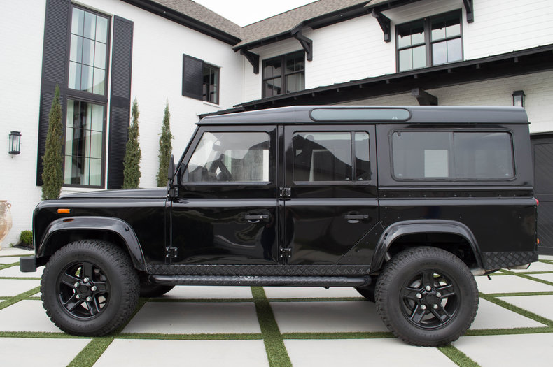 Black 1986 Land Rover Defender Sle For Sale Mcg Marketplace