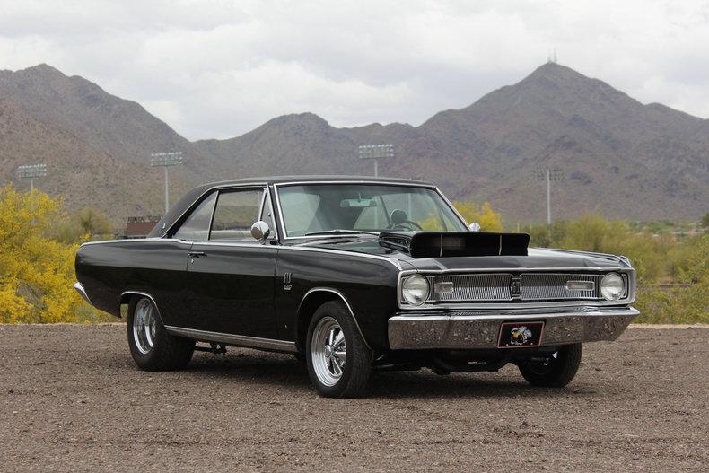 Black 1967 Dodge Dart Gts For Sale Mcg Marketplace