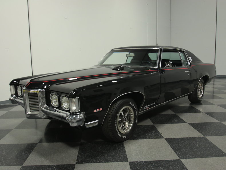 black 1969 pontiac grand prix sj for sale mcg marketplace. Black Bedroom Furniture Sets. Home Design Ideas
