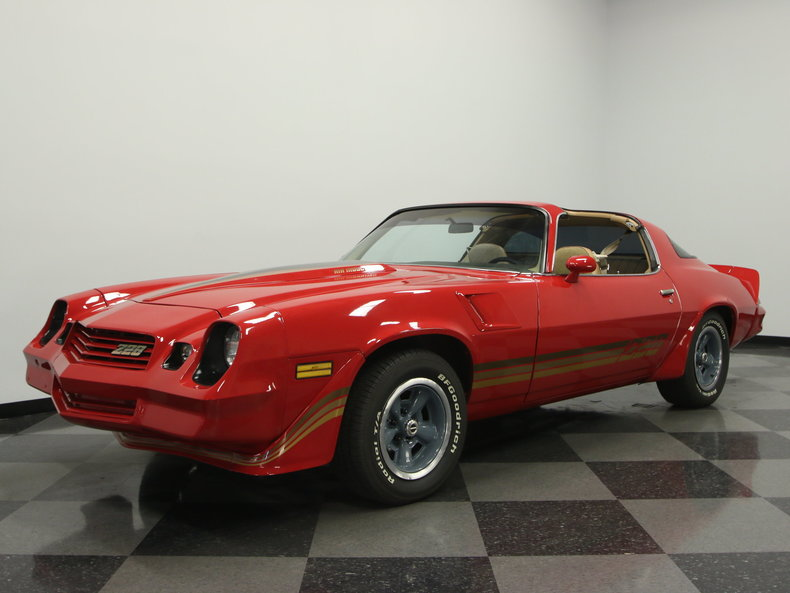 medium red 1981 chevrolet camaro z28 for sale mcg marketplace. Black Bedroom Furniture Sets. Home Design Ideas