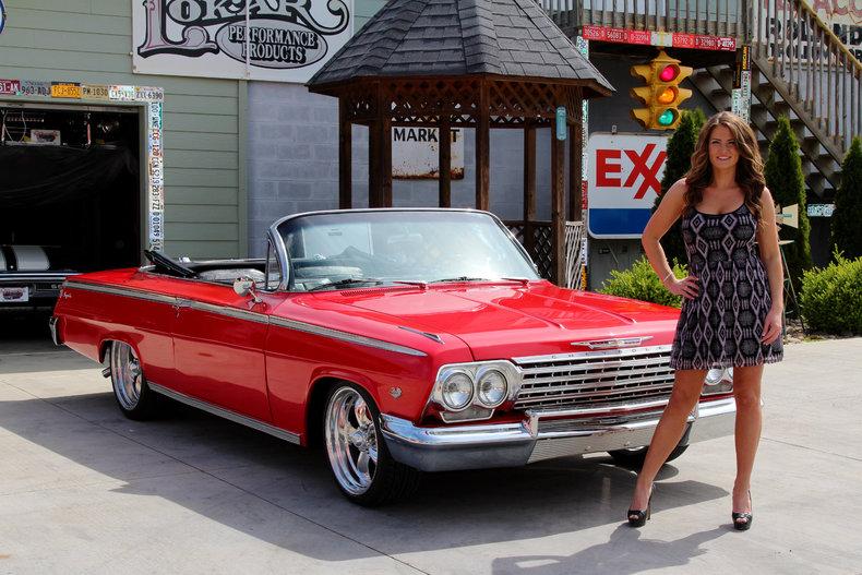 White 1962 Chevrolet Impala For Sale MCG Marketplace