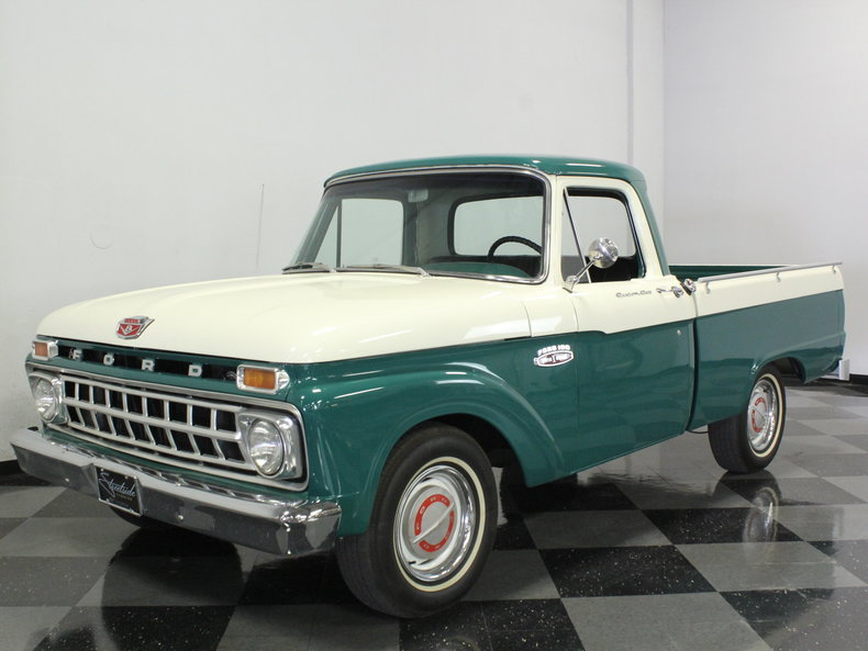 Green 1965 Ford F100 For Sale Mcg Marketplace