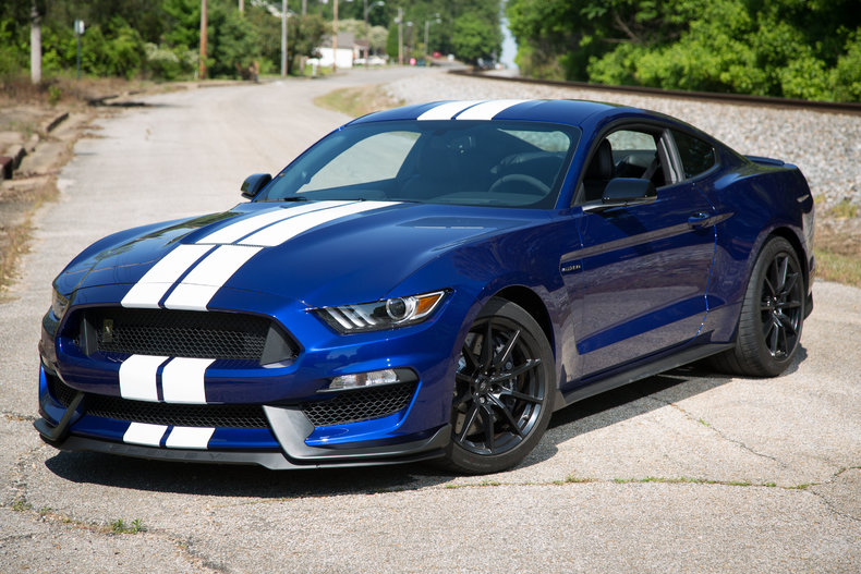 Blue Metallic 2016 Ford Mustang Gt350 For Sale Mcg