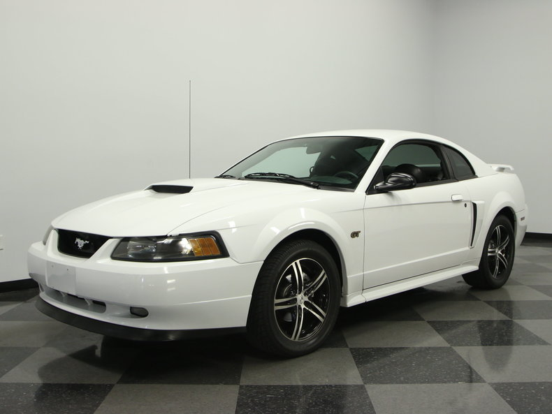 oxford white 2003 ford mustang gt for sale mcg marketplace. Black Bedroom Furniture Sets. Home Design Ideas