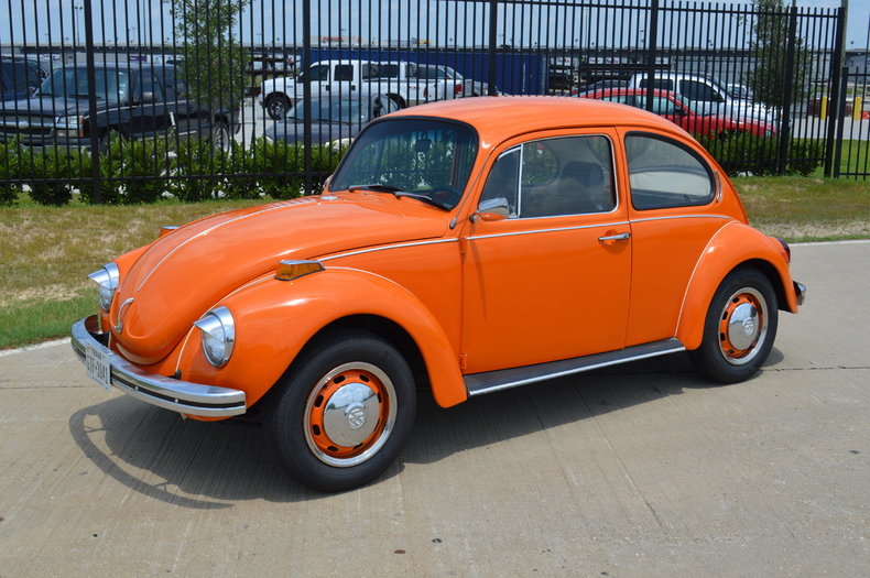 Orange 1971 Volkswagen Super Beetle For Sale Mcg Marketplace