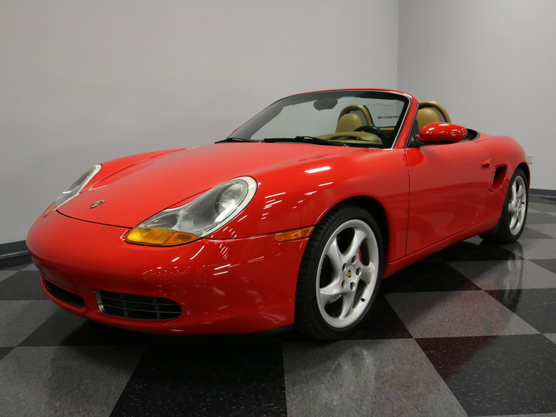 guards red 2000 porsche boxster s for sale mcg marketplace. Black Bedroom Furniture Sets. Home Design Ideas