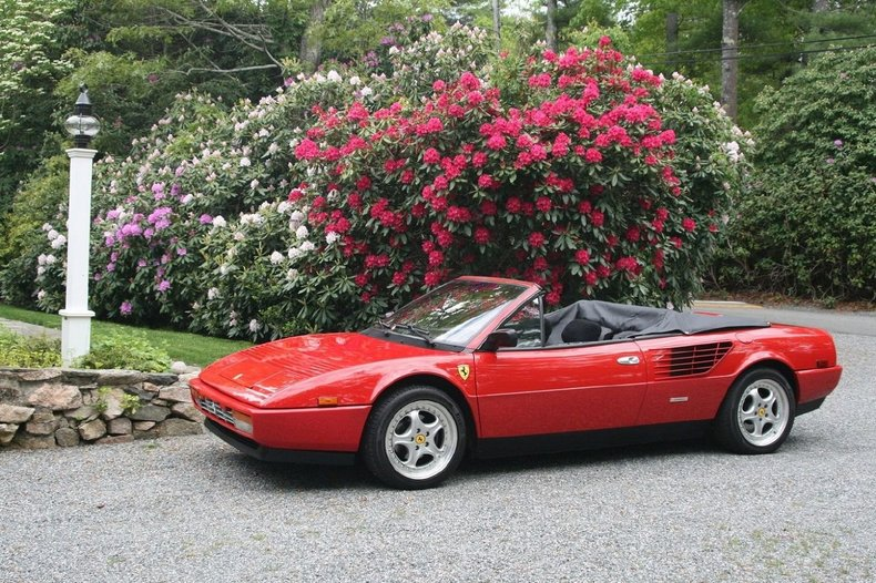 red 1986 ferrari mondial for sale mcg marketplace. Cars Review. Best American Auto & Cars Review