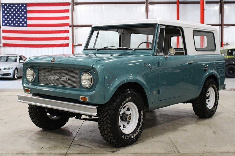 Grand Rapids Car Dealers >> Turquoise 1967 International Scout For Sale   MCG Marketplace