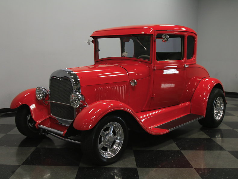 Ford Charlotte Nc >> Red 1928 Ford Coupe For Sale | MCG Marketplace