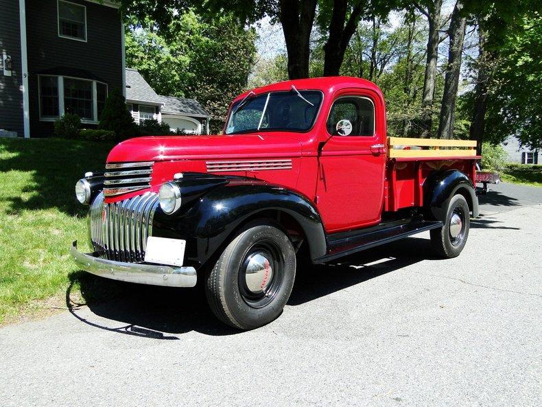 maroon 1946 chevrolet 3 4 ton pickup for sale mcg marketplace. Black Bedroom Furniture Sets. Home Design Ideas