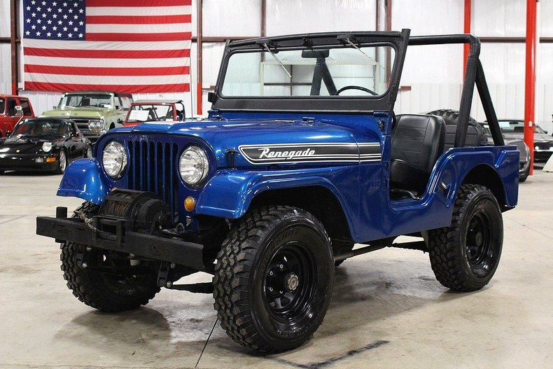 Blue 1967 Jeep Cj5 For Sale Mcg Marketplace
