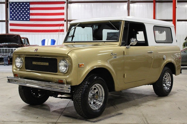 Gold 1967 International Scout For Sale Mcg Marketplace