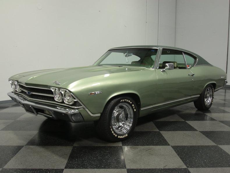 Green 1969 Chevrolet Chevelle Malibu For Sale   MCG ...