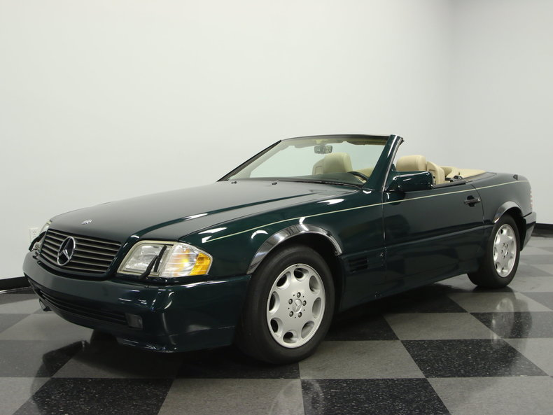 Agate green metallic 1995 mercedes benz sl500 for sale for Mercedes garage 93