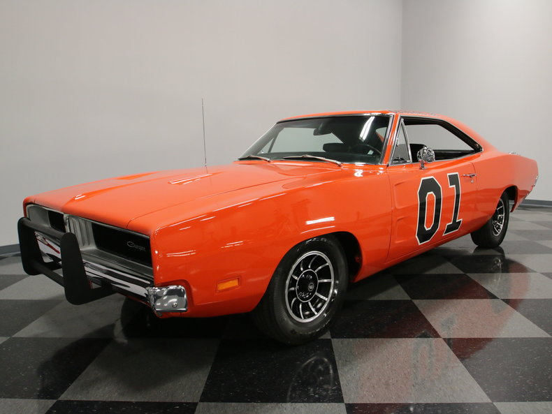 1969 Dodge Charger General Lee Classic Muscle Car For Sale: Hemi Orange 1969 Dodge Charger General Lee For Sale