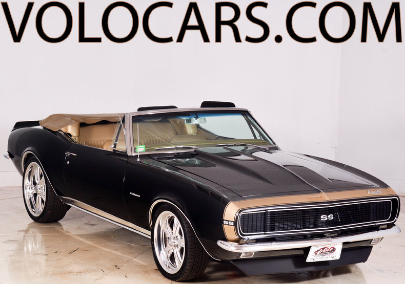 tuxedo black 1967 chevrolet camaro rs ss for sale mcg marketplace. Black Bedroom Furniture Sets. Home Design Ideas