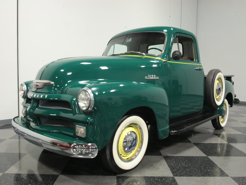Green 1954 Chevrolet 3100 For Sale Mcg Marketplace